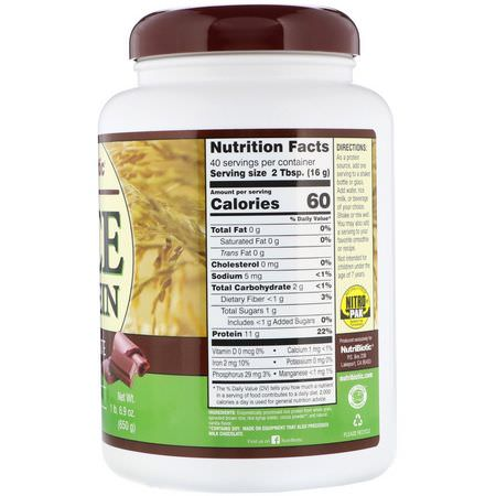 Rice Protein, Plant Based Protein, Protein, Sports Nutrition