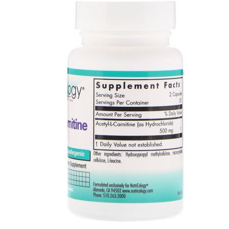 Acetyl L-Carnitine, Amino Acids, Supplements