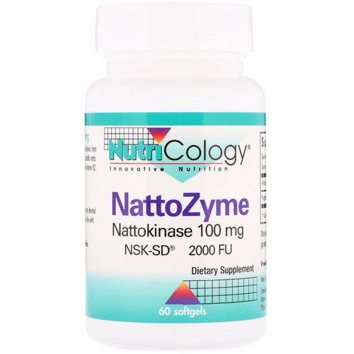 Nutricology, NattoZyme, 100 mg, 60 Softgels Review