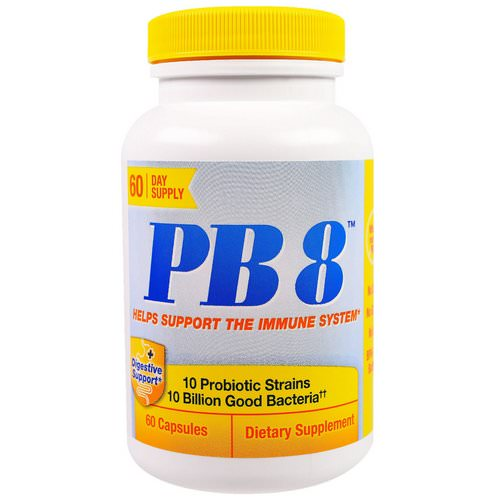 Nutrition Now, PB 8, Immune Support, 60 Capsules Review