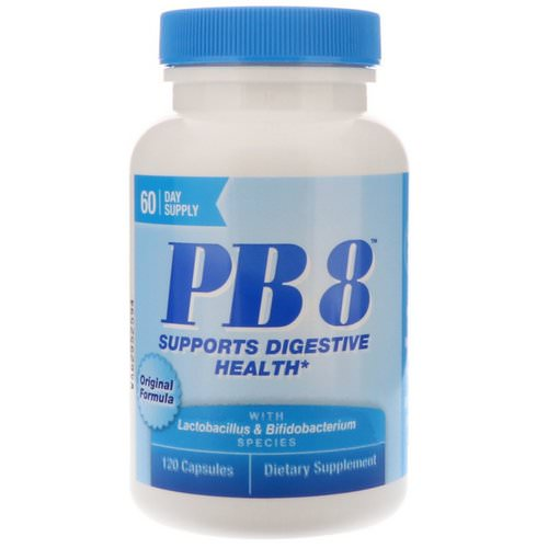 Nutrition Now, PB8, Original Formula, 120 Capsules Review