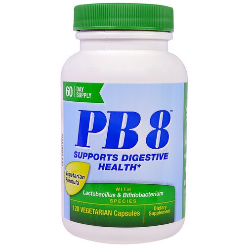 Nutrition Now, PB8 With Lactobacillus & Bifidobacterium, 120 Veggie Caps Review