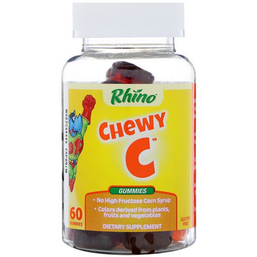 Nutrition Now, Rhino, Chewy C, 60 Gummies Review