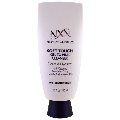 NXN, Nurture by Nature, Soft touch Gel to Milk Cleanser, Dry / Sensitive Skin, 5 fl oz (150 ml) Review