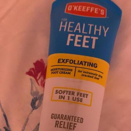 Exfoliating Moisturizing Foot Cream, For Extremely Dry, Cracked Feet