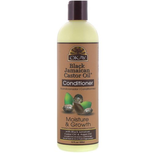 Okay, Black Jamaican Castor Oil, Conditioner, 12 fl oz (355 ml) Review