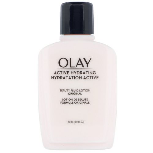 Olay, Active Hydrating, Beauty Fluid Lotion, Original, 4 fl oz (120 ml) Review