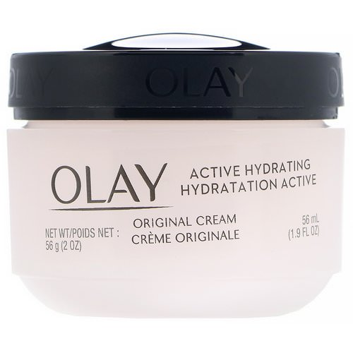 Olay, Active Hydrating, Cream, Original, 2 fl oz (56 ml) Review