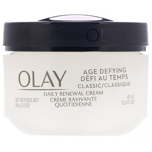 Olay, Age Defying, Classic, Daily Renewal Cream, 2 fl oz (60 ml) Review