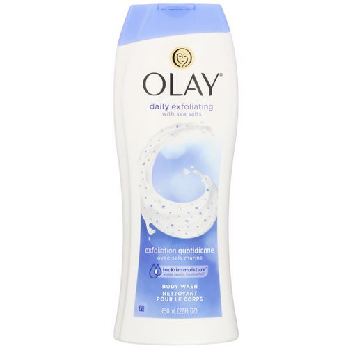 Olay, Daily Exfoliating Body Wash, with Sea Salts, 22 fl oz (650 ml) Review