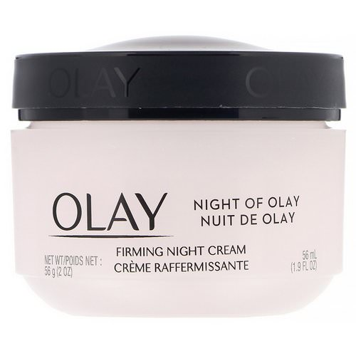 Olay, Night of Olay, Firming Night Cream, 1.9 fl oz (56 ml) Review