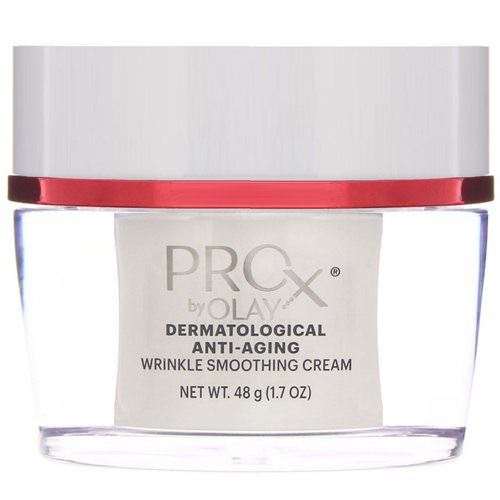 Olay, ProX, Dermatological Anti-Aging, Wrinkle Smoothing Cream, 1.7 oz (48 g) Review