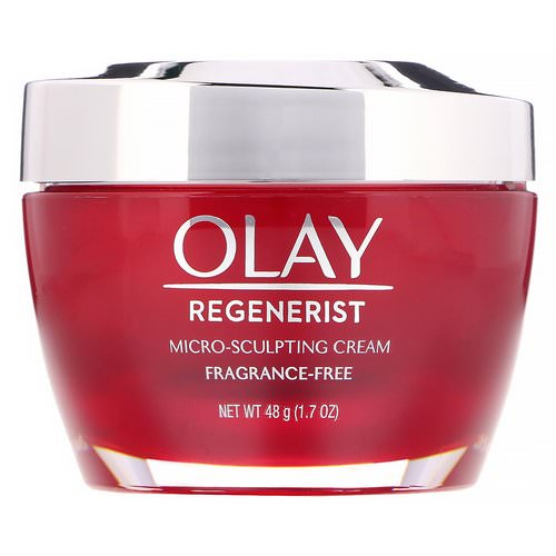 Olay, Regenerist, Micro-Sculpting Cream, Fragrance-Free, 1.7 oz (48 g) Review