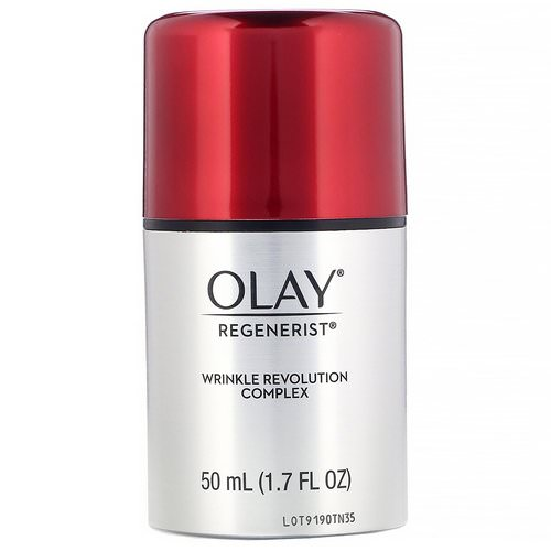 Olay, Regenerist, Wrinkle Revolution Complex, Advanced Anti-Aging Moisturizer, 1.7 fl oz (50 ml) Review