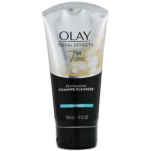 Olay, Total Effects, 7-in-One Revitalizing Foaming Cleanser, 5 fl oz (150 ml) Review