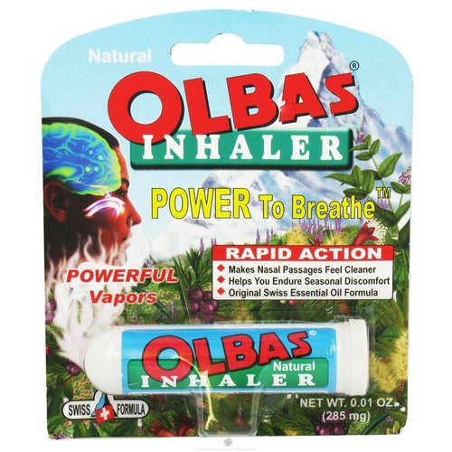 Olbas Therapeutic, Inhaler, 0.01 oz (285 mg) Review