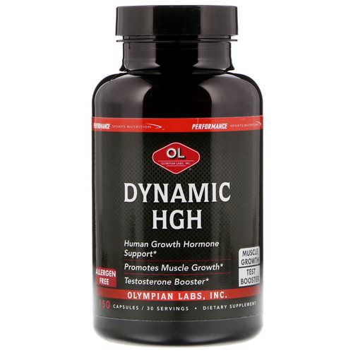 Olympian Labs, Dynamic HGH, 150 Capsules Review