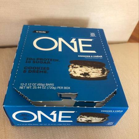 One Brands Sports Nutrition Sports Bars Cookies