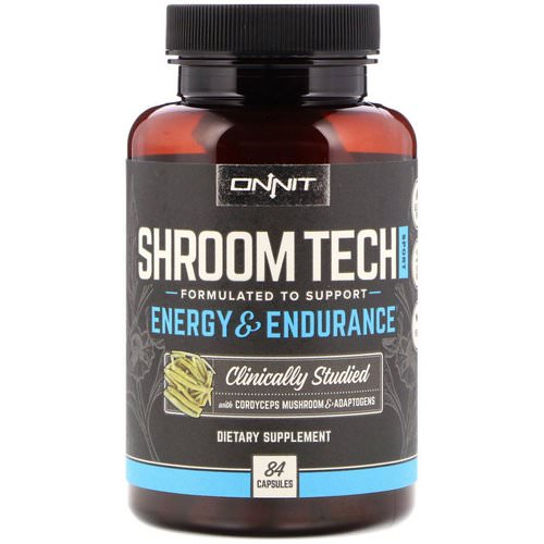 Onnit, Shroom Tech Sport, Energy & Endurance, 84 Capsules Review