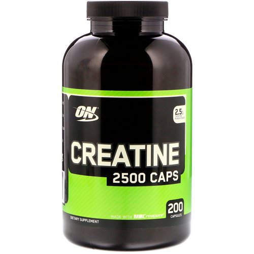 Optimum Nutrition, Creatine 2500 Caps, 2.5 g, 200 Capsules Review