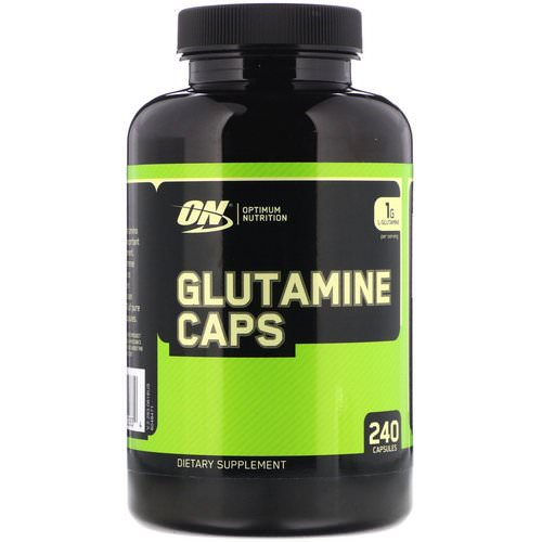 Optimum Nutrition, Glutamine, 1000 mg, 240 Capsules Review