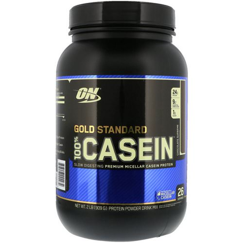 Optimum Nutrition, Gold Standard, 100% Casein, Chocolate Supreme, 2 lbs (909 g) Review