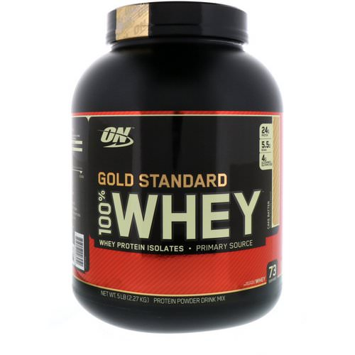Optimum Nutrition, Gold Standard, 100% Whey, Cake Batter, 5 lbs (2.27 kg) Review