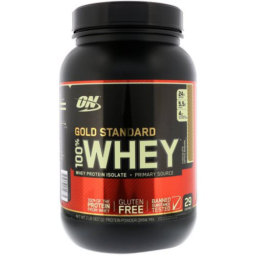 Optimum Nutrition Whey Protein Chocolate Dipped Banana