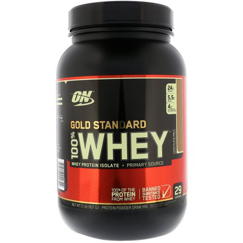 Optimum Nutrition, Gold Standard, 100% Whey, Chocolate Malt, 2 lb (907 g) Review