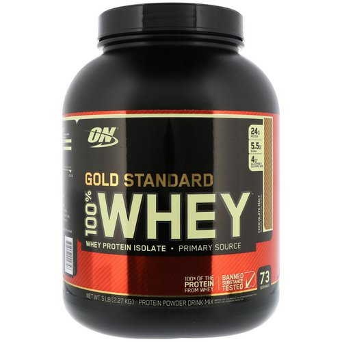 Optimum Nutrition, Gold Standard, 100% Whey, Chocolate Malt, 5 lbs (2.27 kg) Review
