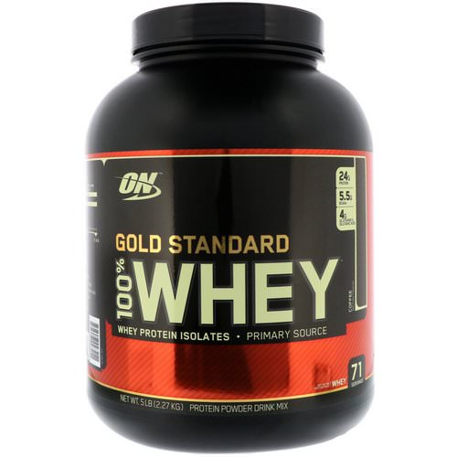 Optimum Nutrition, Gold Standard, 100% Whey, Coffee, 5 lbs (2.27 kg) Review