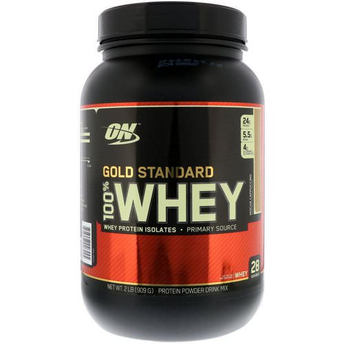 Optimum Nutrition, Gold Standard, 100% Whey, Mocha Cappuccino, 2 lbs (909 g) Review