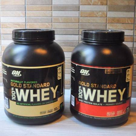Optimum Nutrition, Whey Protein Blends