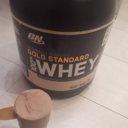 Optimum Nutrition, Gold Standard,100% Whey, Naturally Flavored, Chocolate, 4.8 lbs (2.18 kg) Review