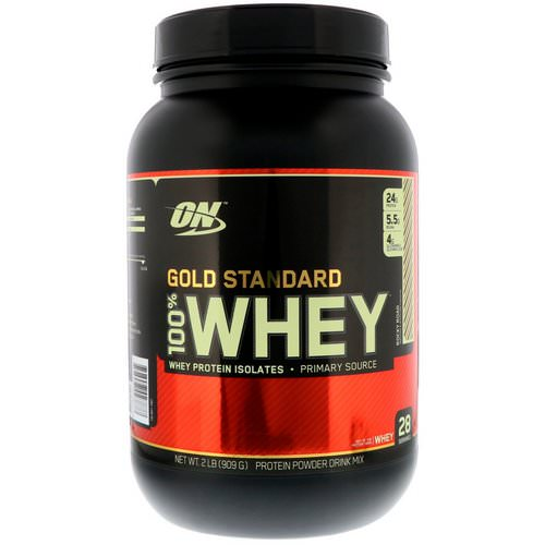 Optimum Nutrition, Gold Standard, 100% Whey, Rocky Road, 2 lb (909 g) Review
