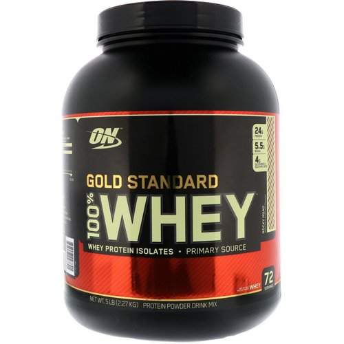 Optimum Nutrition, Gold Standard, 100% Whey, Rocky Road, 5 lbs (2.27 kg) Review