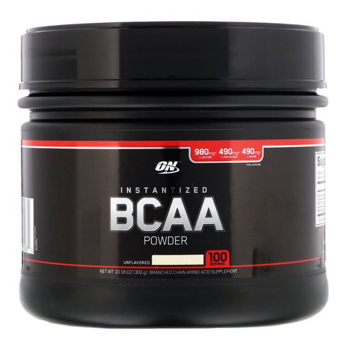 Optimum Nutrition, Instantized BCAA Powder, Unflavored, 10.58 oz (300 g) Review