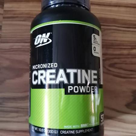 Optimum Nutrition Creatine Monohydrate Micronized Powder