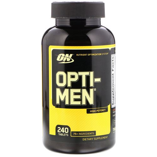 Optimum Nutrition, Opti-Men, 240 Tablets Review