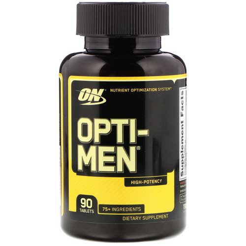 Optimum Nutrition, Opti-Men, 90 Tablets Review