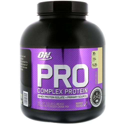 Optimum Nutrition, Pro Complex Protein, Creamy Vanilla, 3.3 lbs (1.48 kg) Review