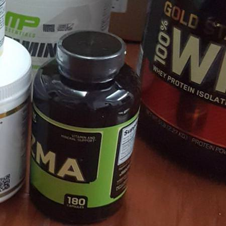 Optimum Nutrition Sports Nutrition Post-Workout Recovery ZMA