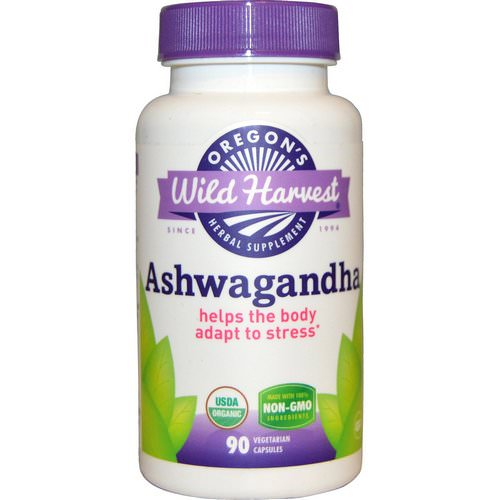 Oregon's Wild Harvest, Ashwagandha, 90 Veggie Caps Review
