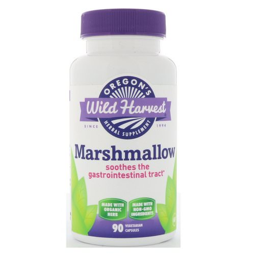 Oregon's Wild Harvest, Marshmallow, 90 Vegetarian Capsules Review