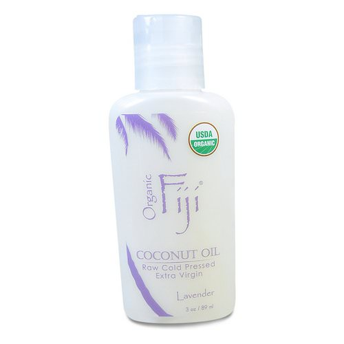 Organic Fiji, Organic Raw Oil, Cold Pressed Coconut Oil, Lavender, 3 oz (89 ml) Review