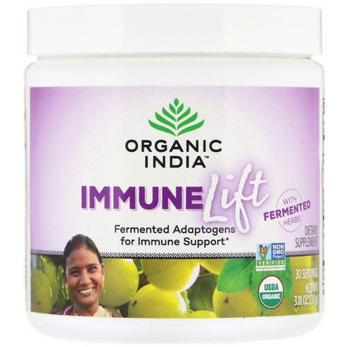 Organic India, Immune Lift, Fermented Adaptogens, 3.18 oz (90 g) Review