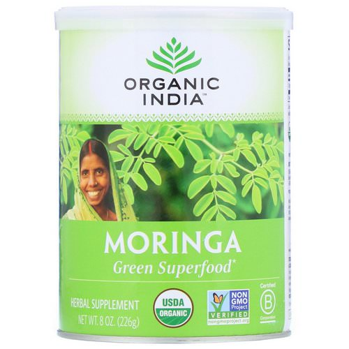 Organic India, Moringa, 8 oz (226 g) Review