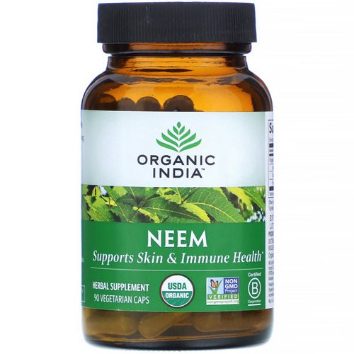 Organic India, Neem, 90 Vegetarian Caps Review