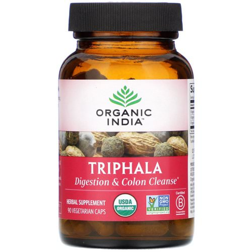 Organic India, Triphala, 90 Vegetarian Caps Review