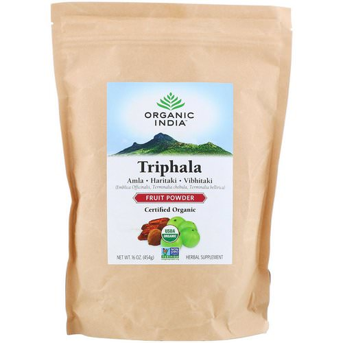 Organic India, Triphala, Fruit Powder, 16 oz (454 g) Review